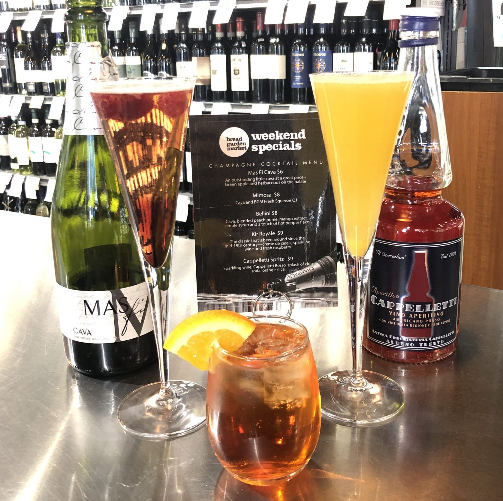 Sparkling Cocktails!