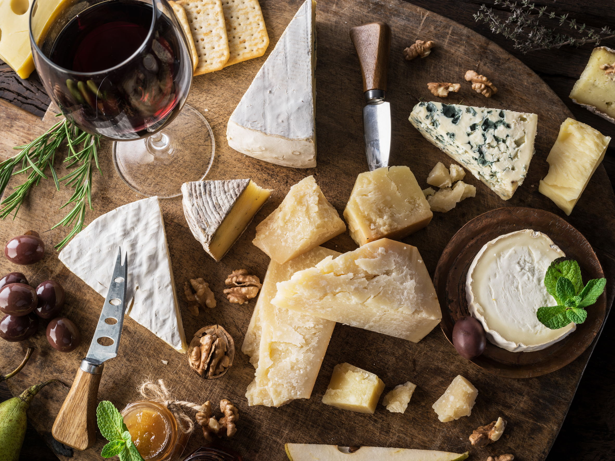Wine & Cheese for Valentine's Day