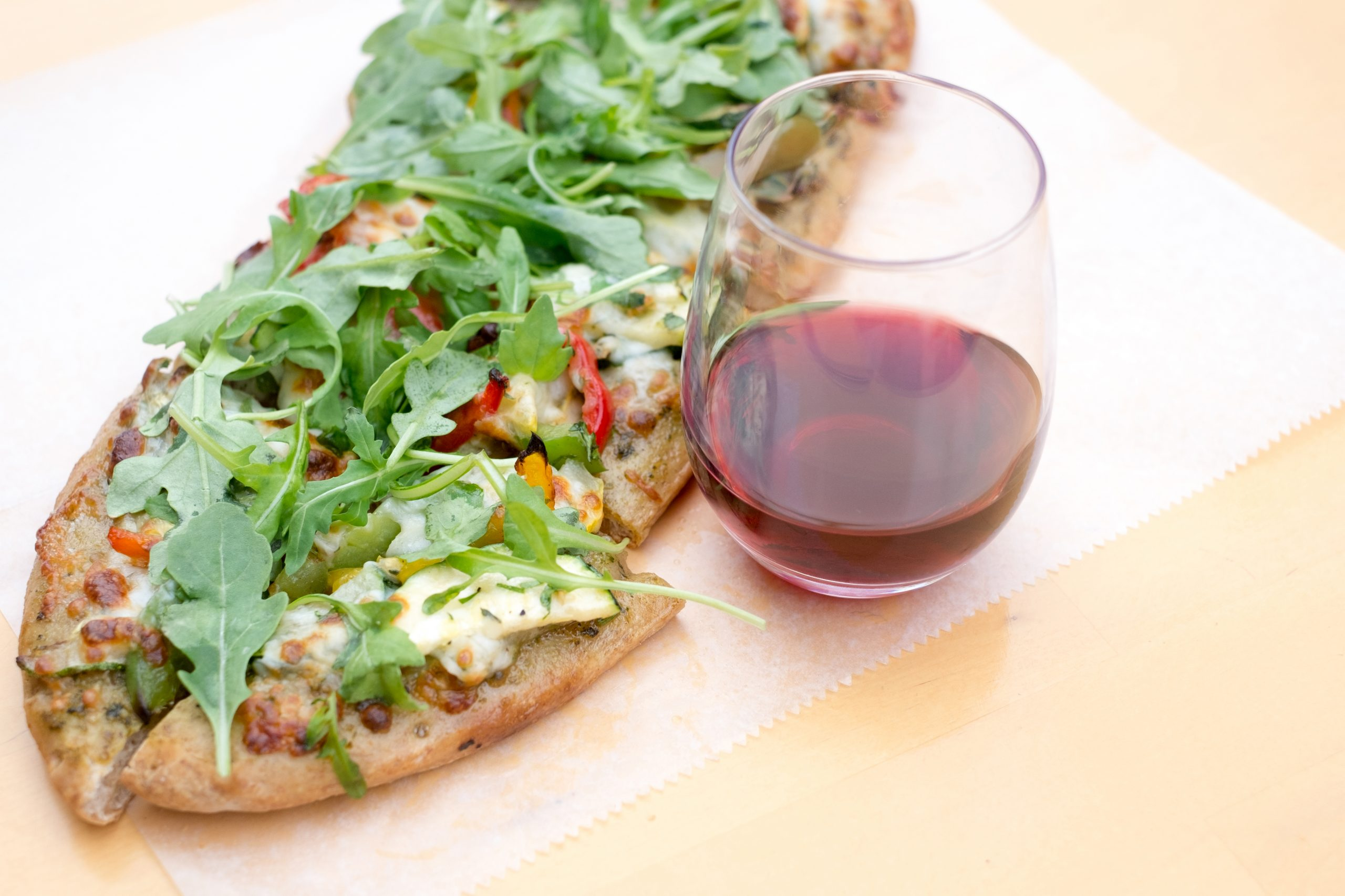 Pizza and Pinot